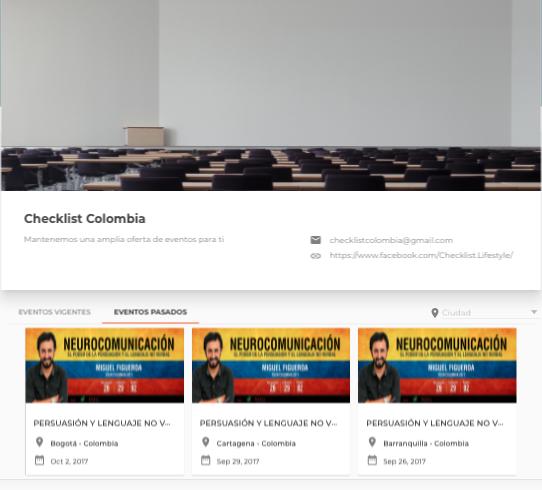 Checklist Colombia
