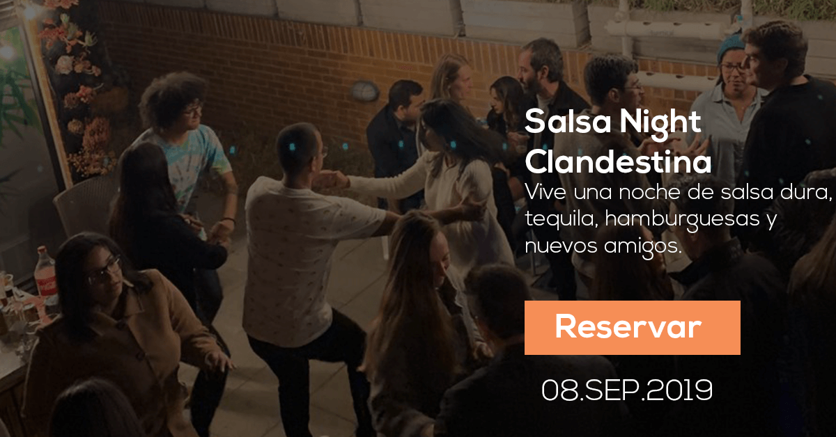 Salsa Night Clandestina en Bogotá